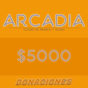 Donaciones 5000
