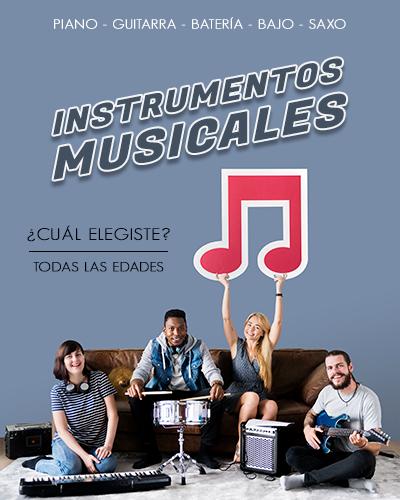 V - Instrumentos Musicales